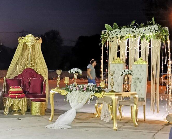 sultoniskos vestuves
